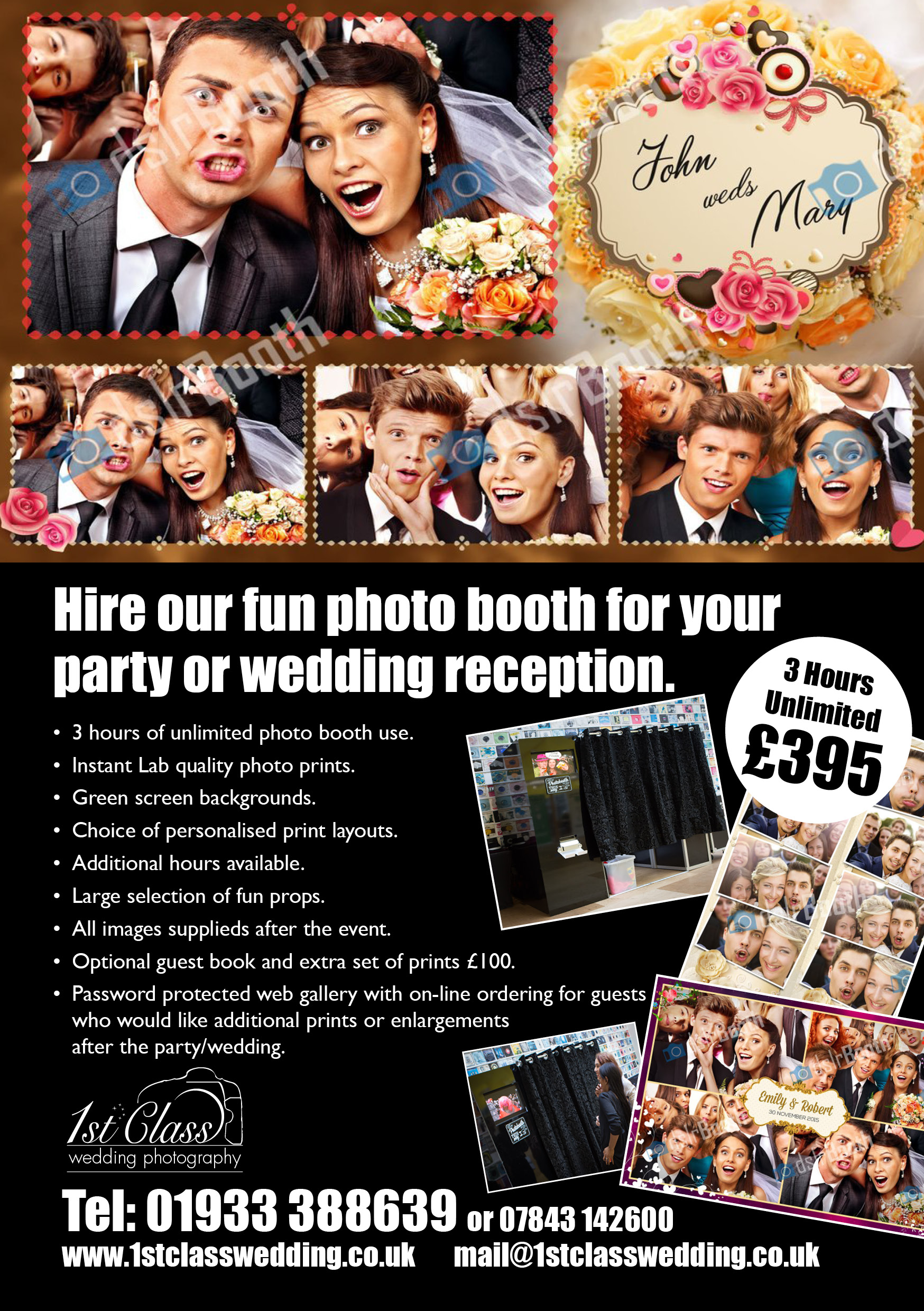 Mobile Photo Booth Or Selfie Pod For Your Reception With Without Instant Printing