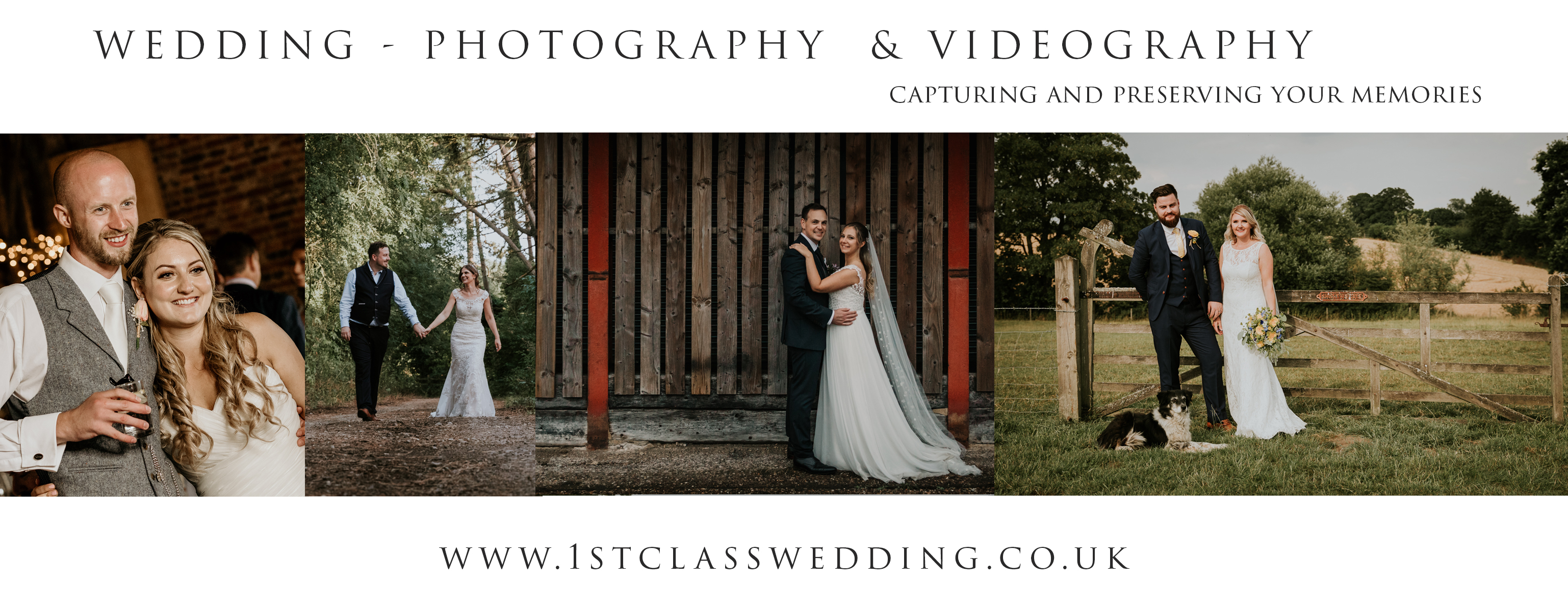 1st Class Wedding Photography & Videography